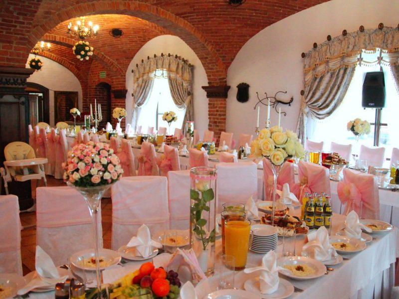 ogranizacja stołów na weselu w legnicy